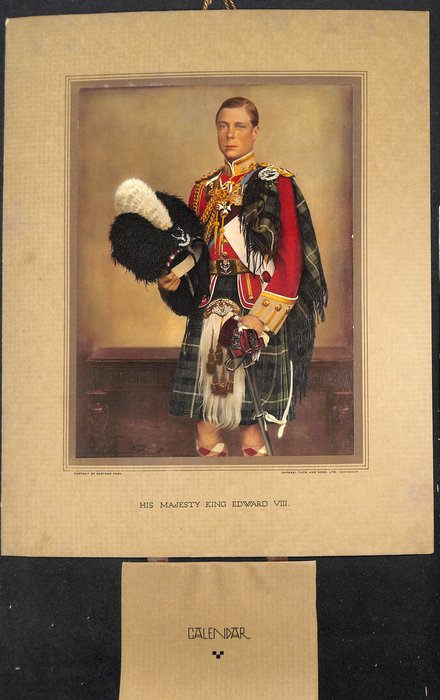 HIS MAJESTY KING EDWARD VIII