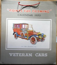 PRINTS FOR FRAMING, VETERAN CARS