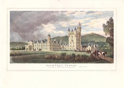 BALMORAL CASTLE (DEE SIDE) PUBLISHED BY ROYAL PERMISSION -- W.SMITH ARCHITECT