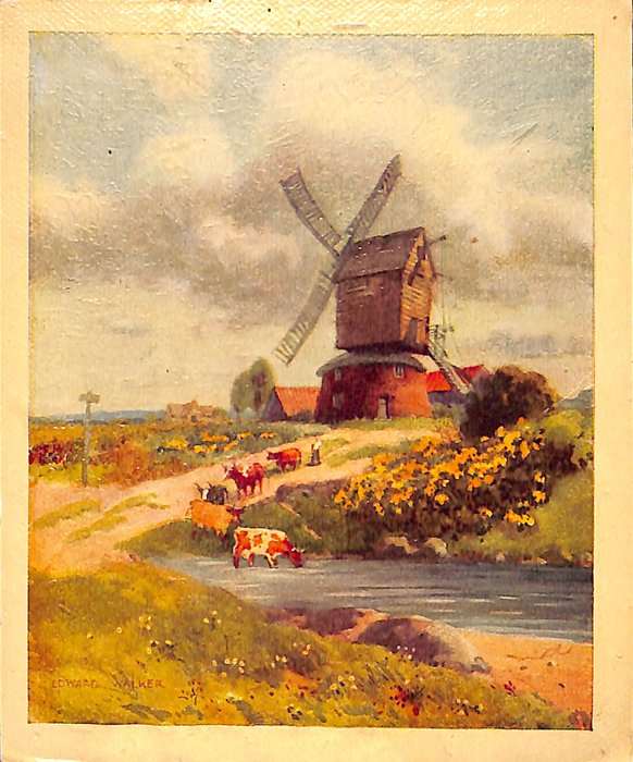 THE OLD MILL (title on reverse)