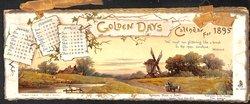GOLDEN DAYS CALENDAR FOR 1895