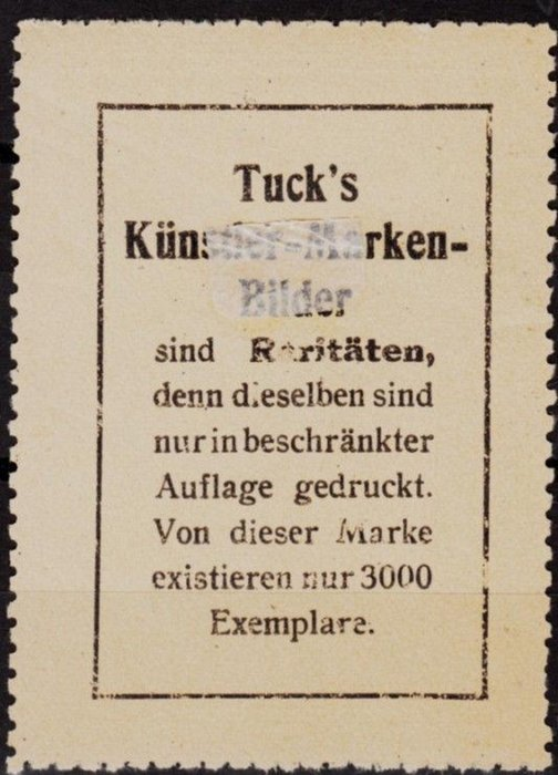 TUCK'S KUNSTER-MARKEN-BILDER AUF HASENSUCHE