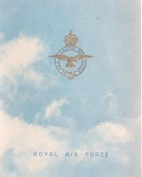 ROYAL AIR FORCE --  BISHOPS COURT (or other station inside)