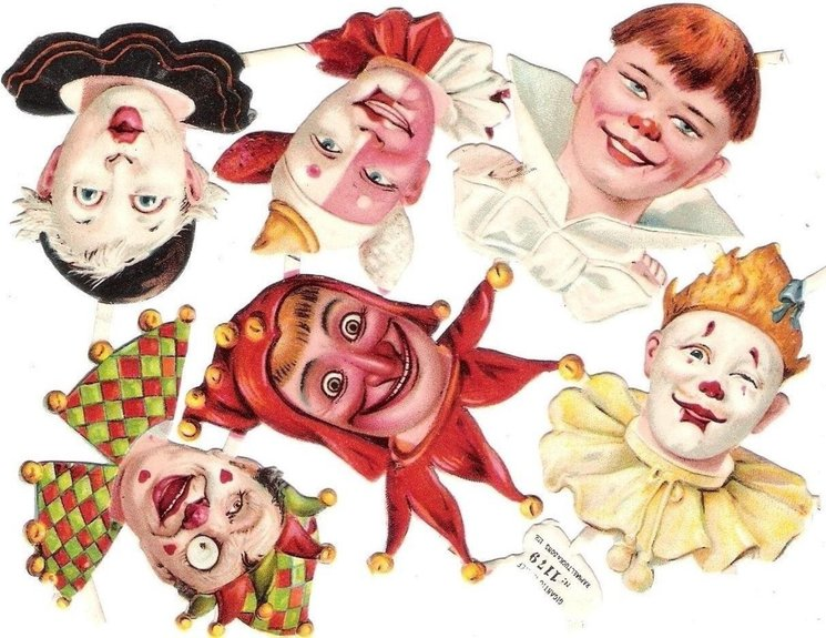 clown faces