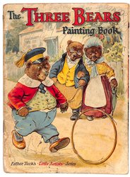THE THREE BEARS PAINTING BOOK