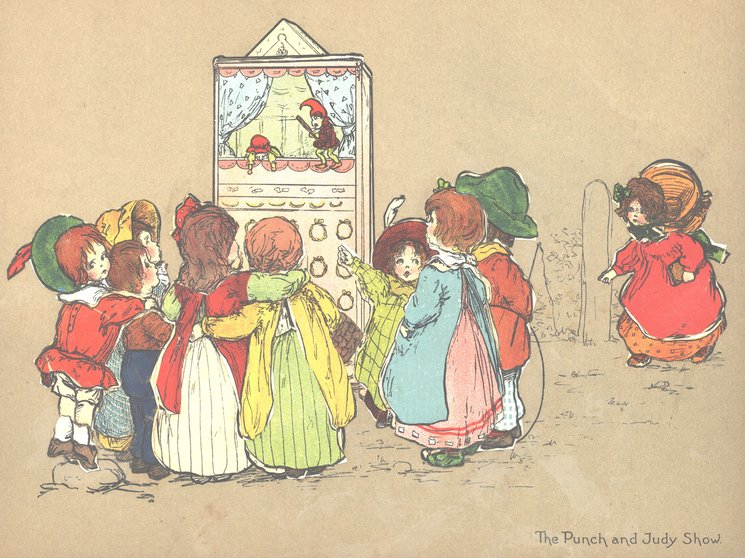 THE PUNCH AND JUDY SHOW