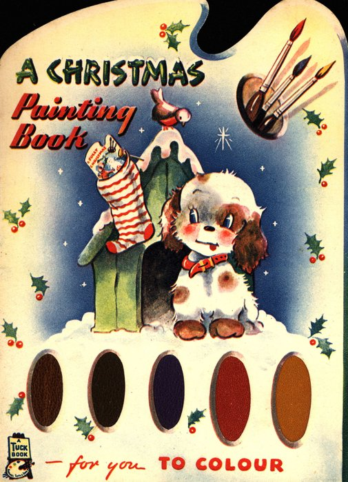 A CHRISTMAS PAINTING BOOK