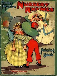 FATHER TUCK'S NURSERY RHYMES PAINTING BOOK