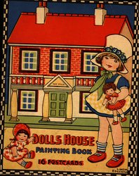 DOLLS HOUSE PAINTING BOOK