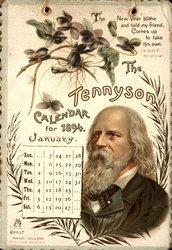 THE TENNYSON CALENDAR FOR 1894