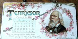 TENNYSON CALENDAR FOR 1897