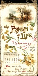 A PSALM OF LIFE CALENDAR FOR 1897