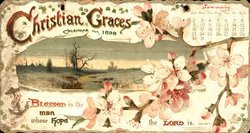 CHRISTIAN GRACES CALENDAR FOR 1898