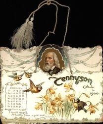 TENNYSON CALENDAR FOR 1900