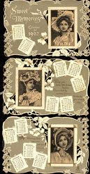 SWEET MEMORIES CALENDAR FOR 1902