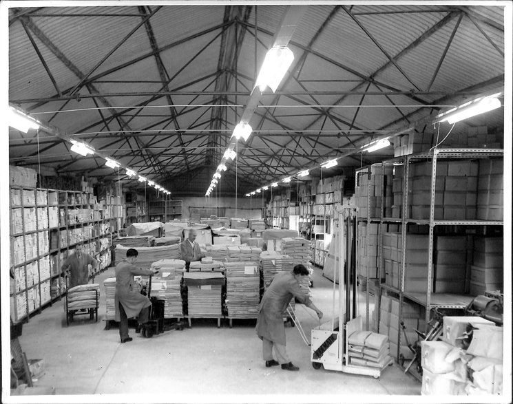 longview showing packages prepared for shipping