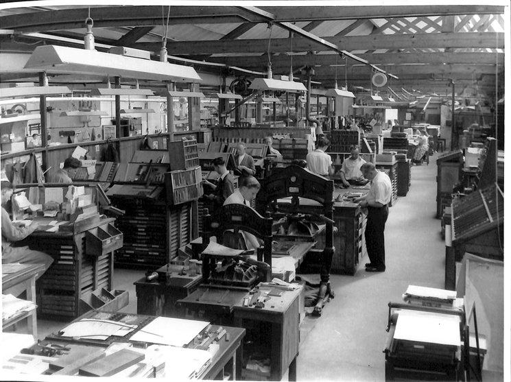 overview of the factory floor