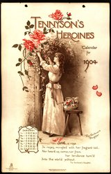 TENNYSON'S HEROINES CALENDAR FOR 1904