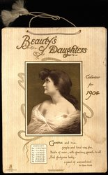 BEAUTY'S DAUGHTERS CALENDAR FOR 1904
