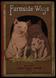 FARMSIDE WAYS two pigs sitting