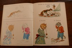 CATS AND DOGS PAINTING BOOK OF POSTCARDS