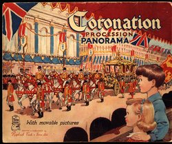 CORONATION PROCESSION PANORAMA