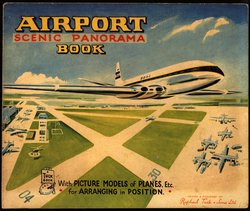 AIRPORT SCENIC PANORAMA BOOK