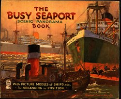 THE BUSY SEAPORT SCENIC PANORAMA BOOK