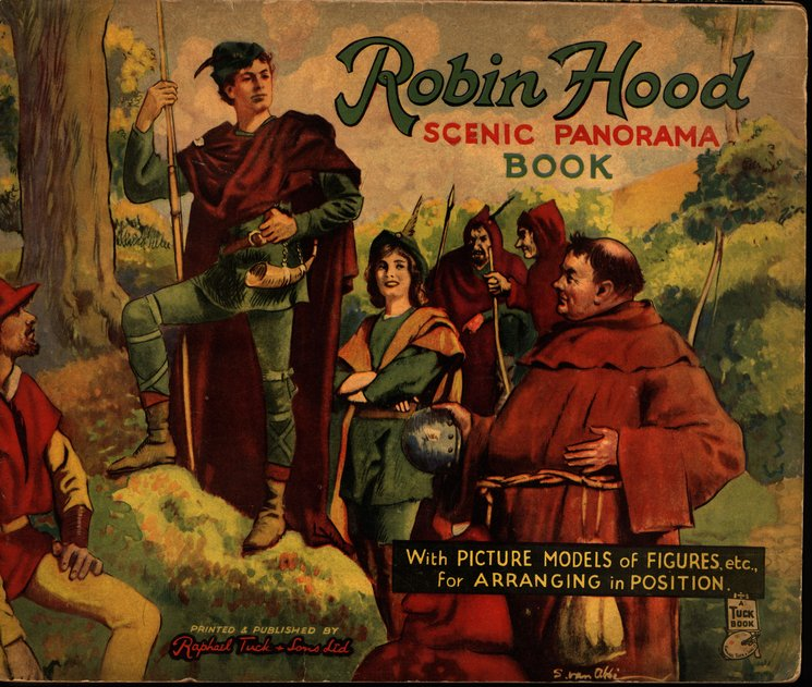 ROBIN HOOD SCENIC PANORAMA BOOK