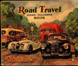 ROAD TRAVEL SCENIC PANORAMA BOOK, foldout version
