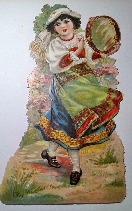 AN ITALIAN GIRL