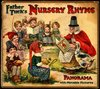 FATHER TUCK'S NURSERY RHYME PANORAMA WITH MOVABLE PICTURES, foldout version