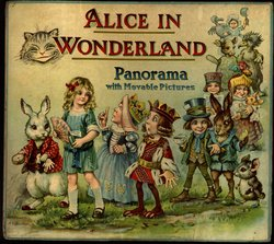 ALICE IN WONDERLAND PANORAMA WITH MOVABLE PICTURES