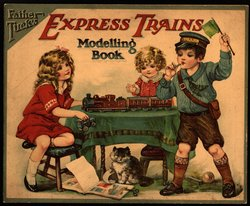 FATHER TUCK'S EXPRESS TRAIN MODELLING BOOK