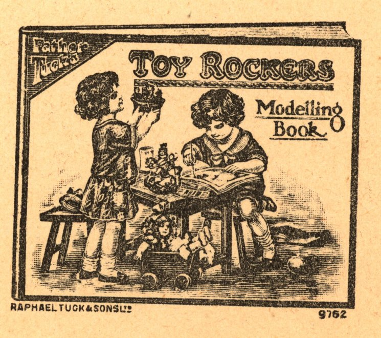 FATHER TUCK'S TOY ROCKERS MODELLING BOOK