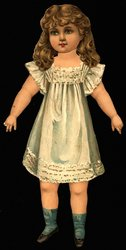 DOLLY DELIGHT AND HER DRESSES,  ARTISTIC SERIES III, PATENT APPLIED FOR
