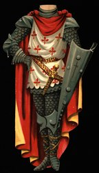 THE KNIGHT TEMPLAR COSTUME (hat is missing)