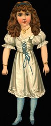ARTISTIC SERIES VII. COURTLY BEATRICE. U.S. PATENT FEBRUARY 20TH 1894.