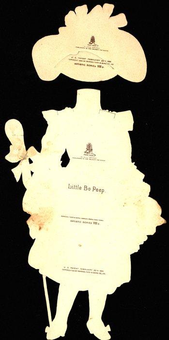 LITTLE BO PEEP (title on reverse)