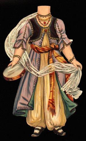 MORGIANA (title on reverse) (hat missing)