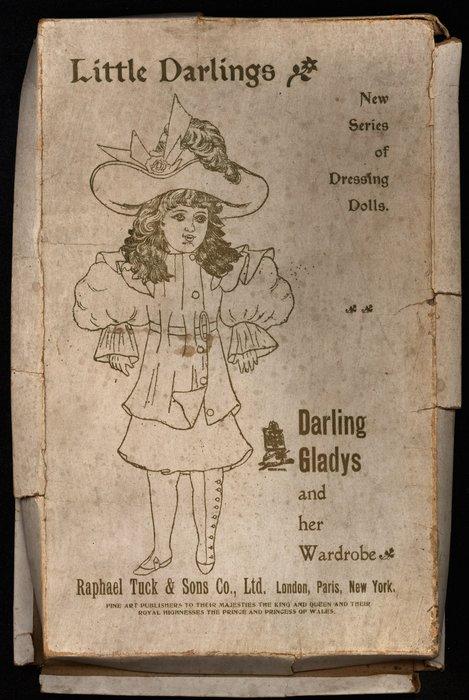 DARLING GLADYS, ARTISTIC SERIES 23, PATENT NO. 23003