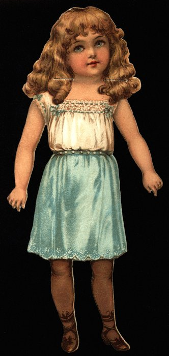 ROSY RUTH, DOLLS FOR ALL SEASONS, MES POUPEES, SERIE 1, (smaller 9 in. version with slits, no number)