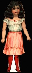 SWEET ALICE, (smaller 9 in. version with slits, no number) (envelope has no. 31)