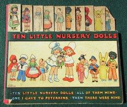 TEN LITTLE NURSERY DOLLS