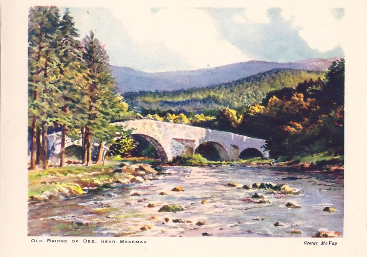 OLD BRIDGE OF DEE, NEAR BRAEMAR