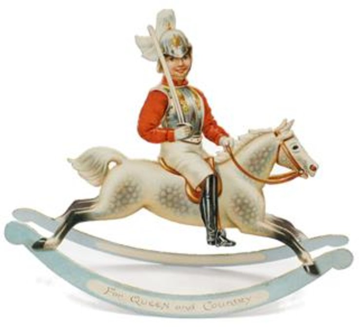 ROCKING HORSES, FOR QUEEN AND COUNTRY