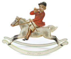ROCKING HORSES, TALLY HO!