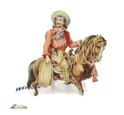MORE FOUR-FOOTED FRIENDS,  MEXICAN ON HORSEBACK