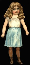 ROSY RUTH doll (13 in.version, title on box)