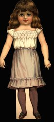 DEAR DOROTHY, doll (13 in.version, title on box)